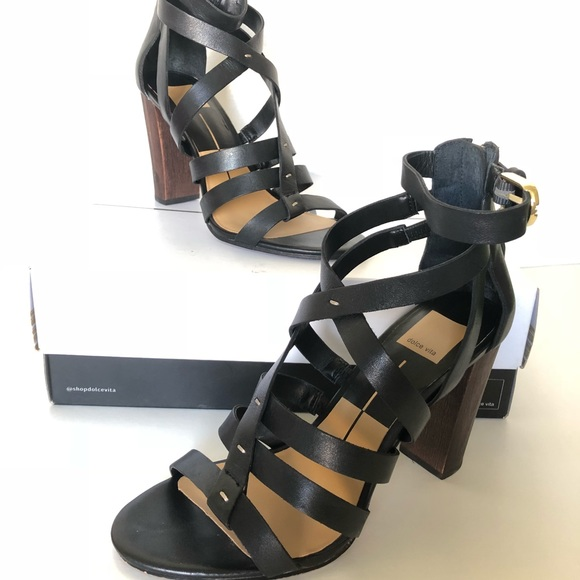 4b4db4ce524 Dolce Vita Shoes - Like new Dolce Vita Nolin Strappy Leather Heels